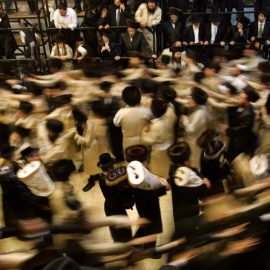 Our eyes – a message for Simchas Torah