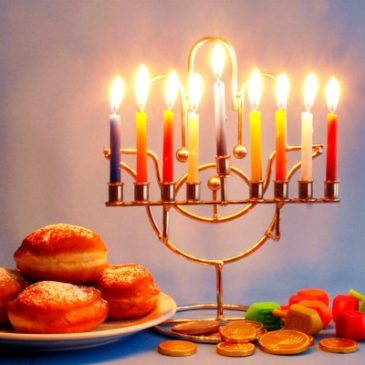Chanukah – Light up the Legs