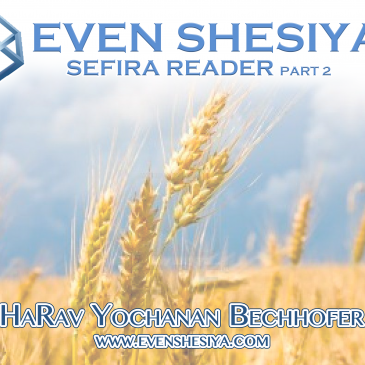 The Sefira Reader part 2 5780